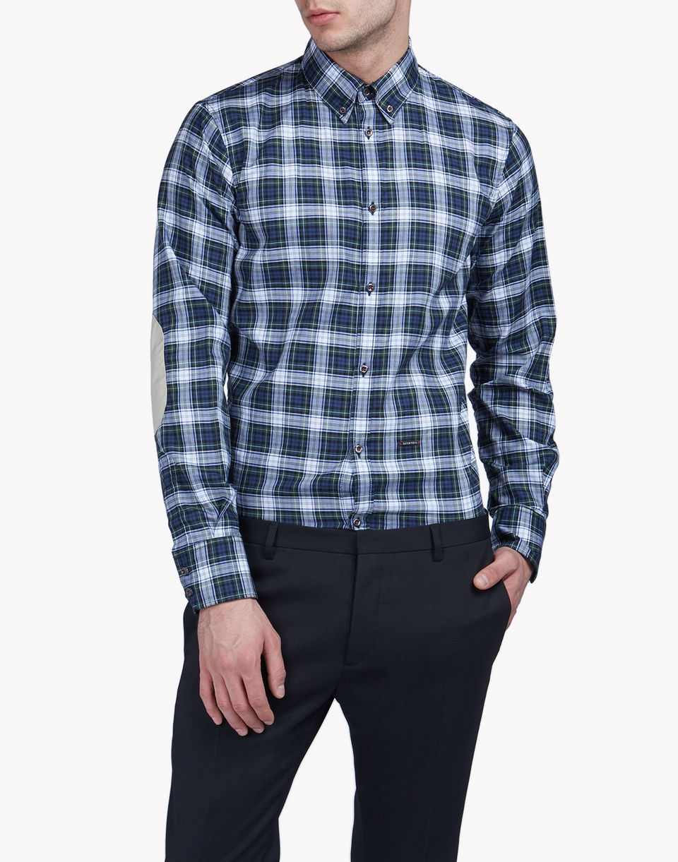 check button down shirt shirts Man Dsquared2