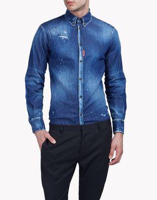 DSQUARED2 Denim shirt U S74DM0076S30341470 f