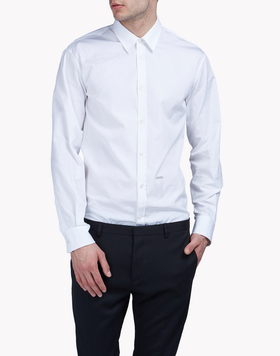 relax dan poplin shirt shirts Man Dsquared2