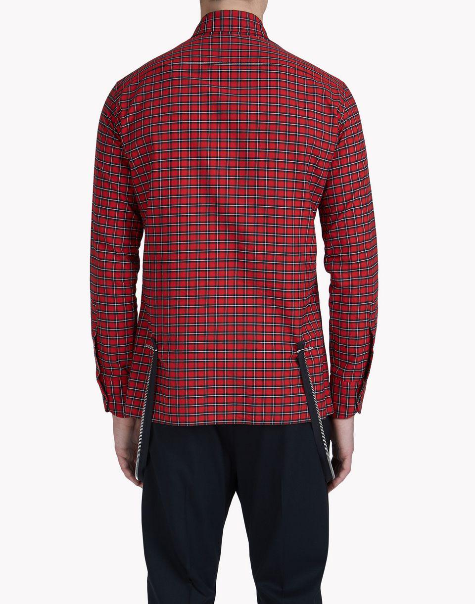 check zip shirt shirts Man Dsquared2