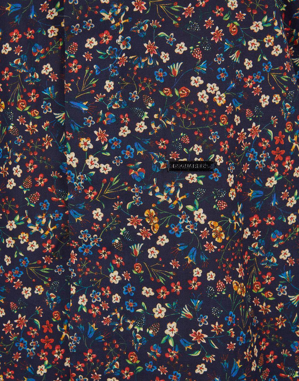 floral cotton shirt hemden Damen Dsquared2