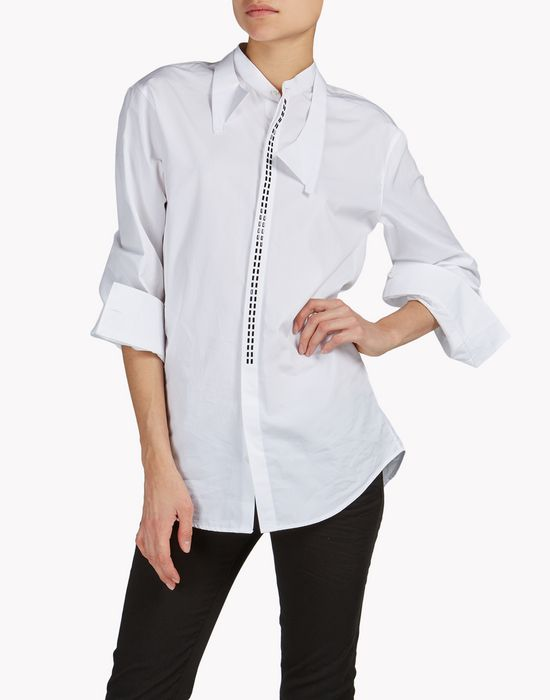 embroidered shirt shirts Woman Dsquared2