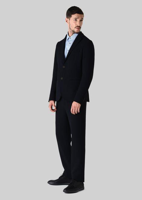 FRENCH COLLAR COTTON SHIRT: Classic Shirts Men by Armani - 3