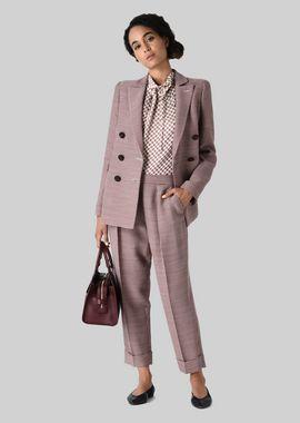Armani Tops Women printed silk top