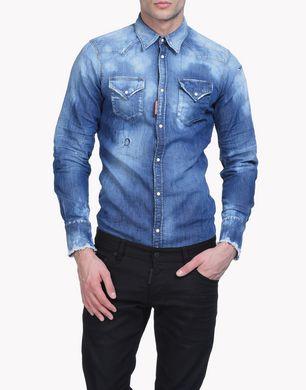 DSQUARED2 Denim shirt U S71DM0124S30341470 f