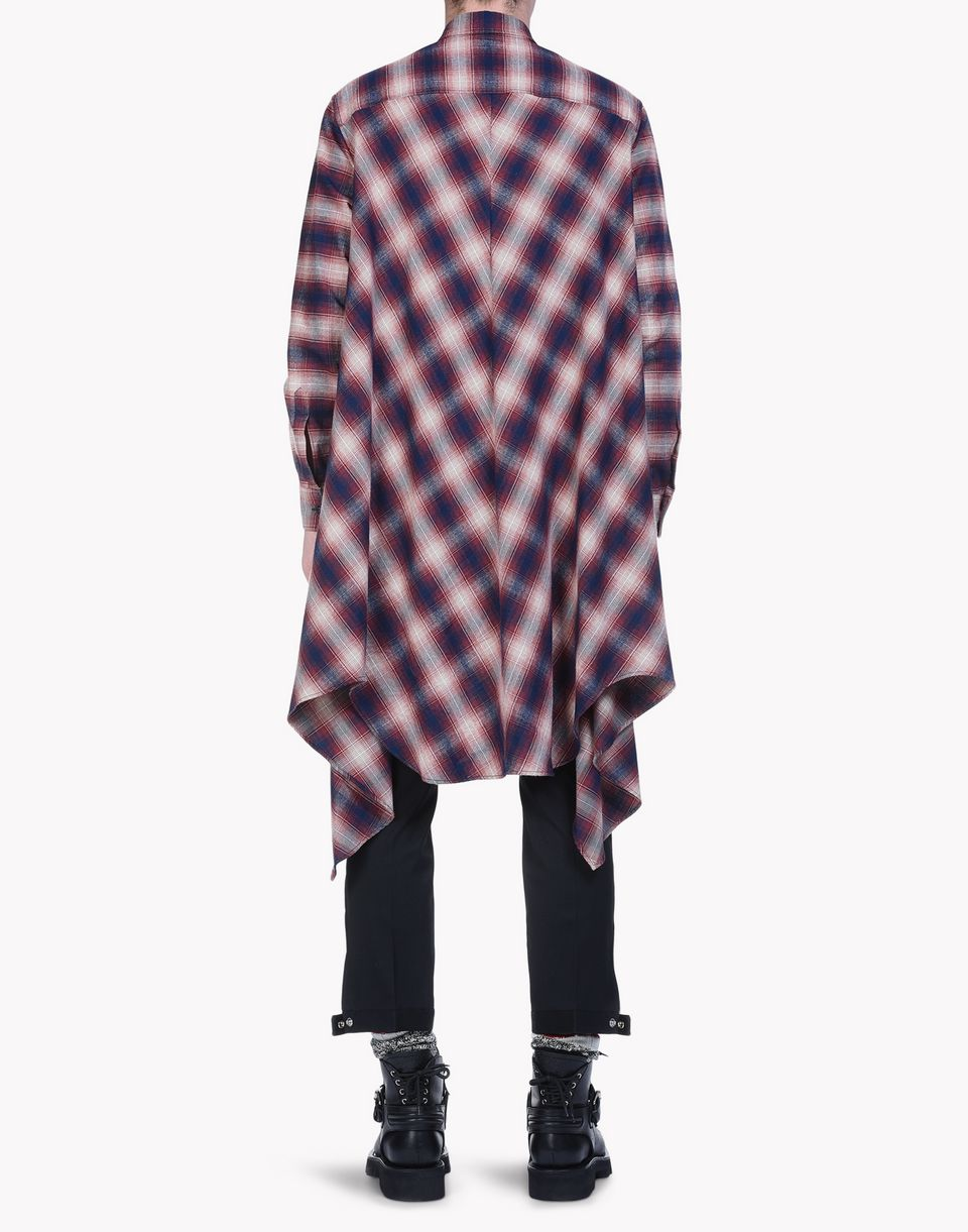 check cotton blanket shirt shirts Man Dsquared2