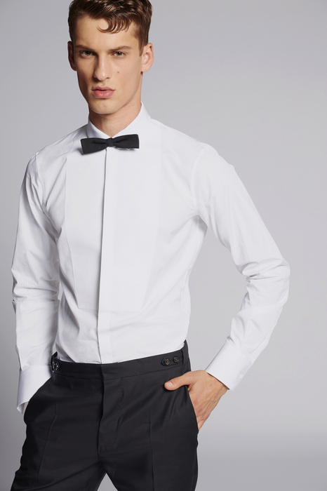 bib slim fit shirt shirts Man Dsquared2