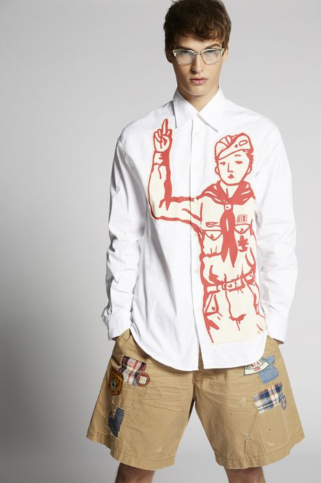 bad scout shirt shirts Man Dsquared2