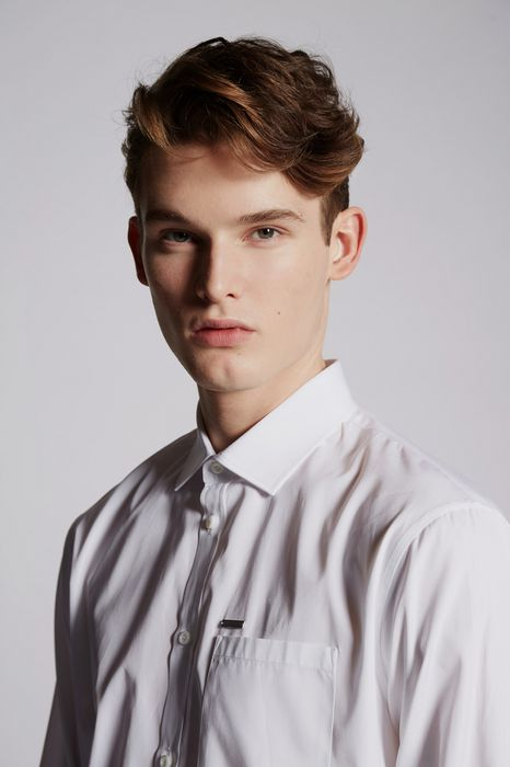 cotton poplin mb shirt shirts Man Dsquared2