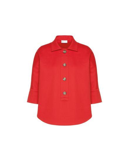 Safari-inspired cotton cady shirt