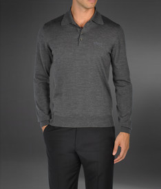 ARMANI COLLEZIONI - Polo sweater