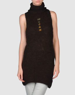 &#39;UKAN KNITWEAR Sleeveless jumpers WOMEN on YOOX.COM