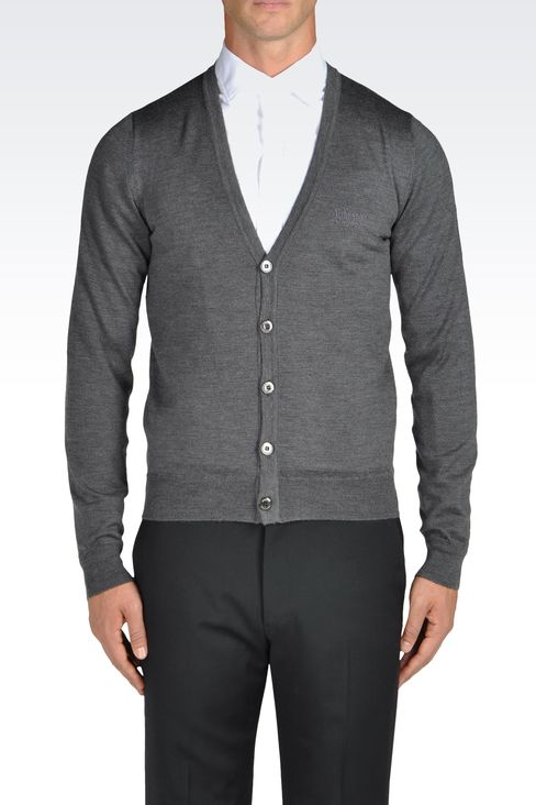Knitwear: Cardigans Men by Armani - 2
