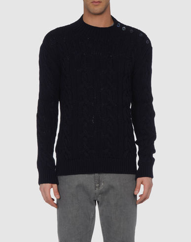 CRUCIANI - High neck sweater