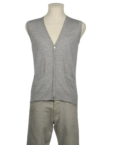 GREY DANIELE ALESSANDRINI - Sweater vest