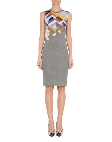 Colour-block Intarsia Dress
