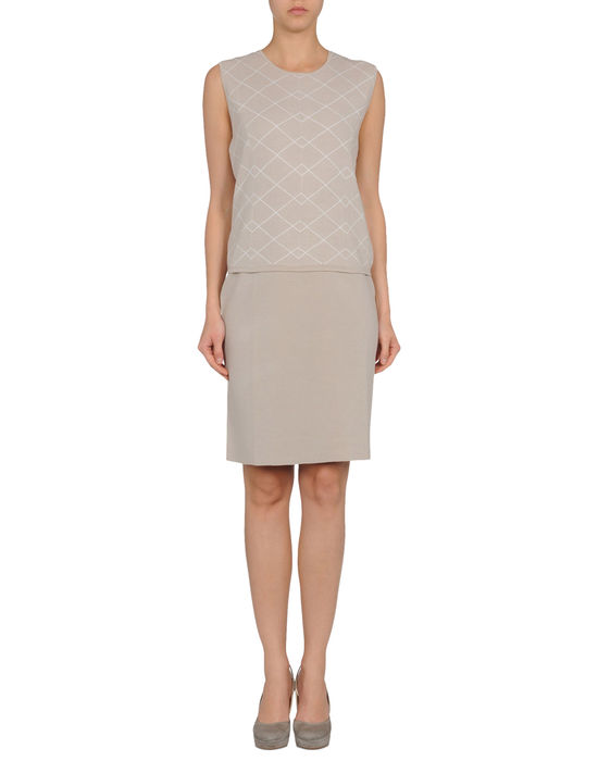 Фото PRINGLE OF SCOTLAND Короткое платье. Купить с доставкой