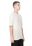 T by ALEXANDER WANG SLUB RAYON SILK CREWNECKTEE Short sleeve t-shirt Adult 8_n_a