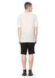T by ALEXANDER WANG SLUB RAYON SILK CREWNECKTEE Short sleeve t-shirt Adult 8_n_r