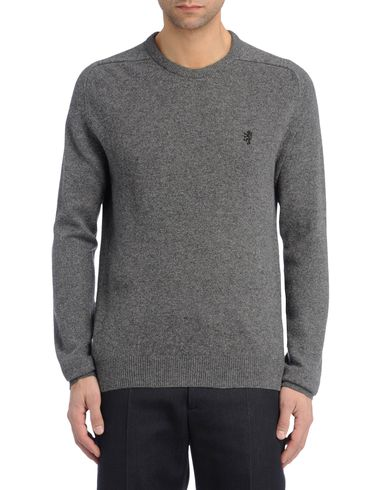 Contrast Lambswool Sweater