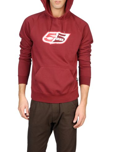 55DSL - Sweatshirts - FLOGO-HOOD