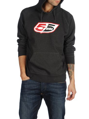 55DSL - Sweaters - FLOGO-HOOD