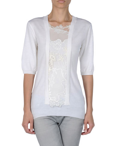 ERMANNO SCERVINO - Short sleeve sweater