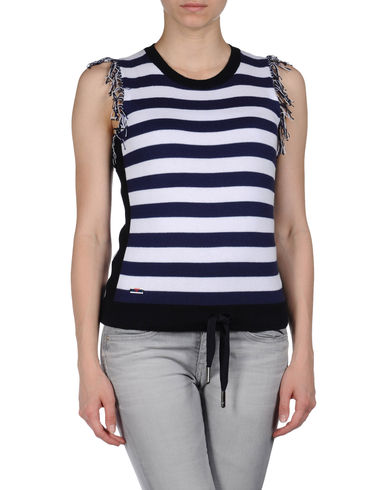 ARMANI JEANS - Sleeveless sweater
