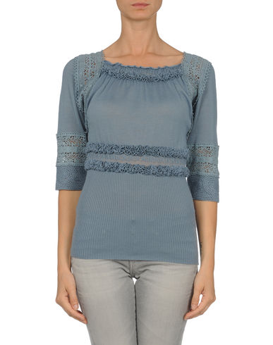 ALBERTA FERRETTI - Short sleeve sweater