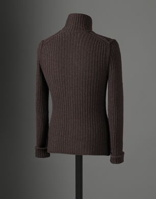 TURTLE NECK CARDIGAN - Cashmere sweaters - Dolce&Gabbana - Winter 2016