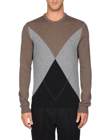 Three-Color Argyle Sweater
