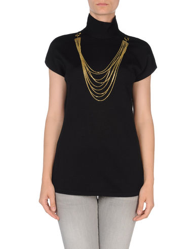 CLASS ROBERTO CAVALLI - Short sleeve sweater
