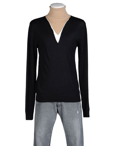 LES HOMMES - High neck sweater