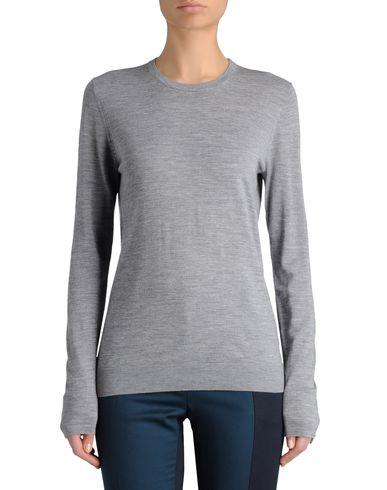 Diamante-Button Sweater