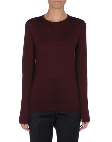 Diamante-Button Sweater
