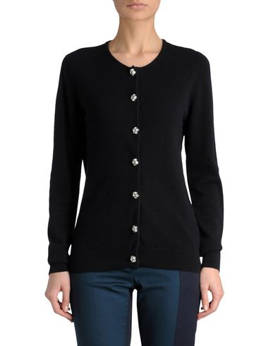Diamante-Button Cardigan