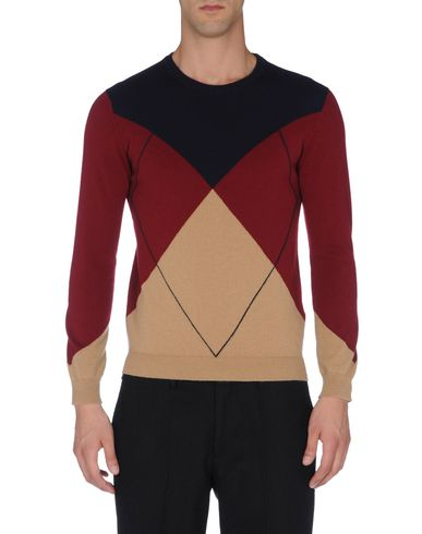 Cashmere Argyle Sweater