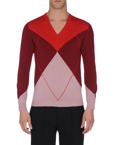 Cashmere Argyle V-Neck