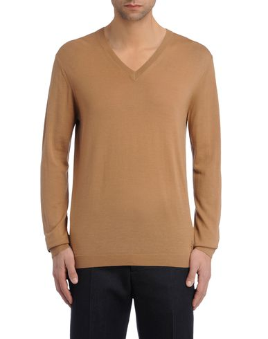Solid Merino V-Neck