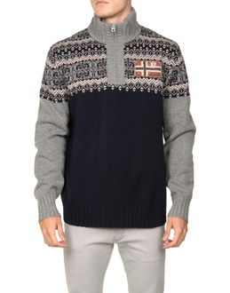 NAPAPIJRI High neck sweaters $ 119.00