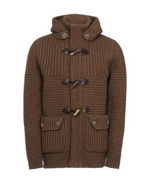 Mid-length jacket Men's - BARK