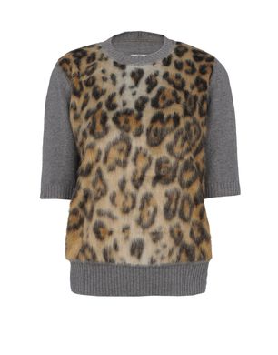 Short sleeve sweater Women's - AQUILANO-RIMONDI