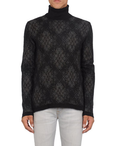 Y'S FOR MEN YOHJI YAMAMOTO - High neck sweater