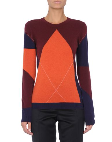 Abstract Argyle Sweater