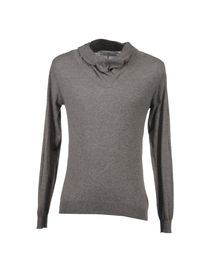 GREY DANIELE ALESSANDRINI - High neck sweater