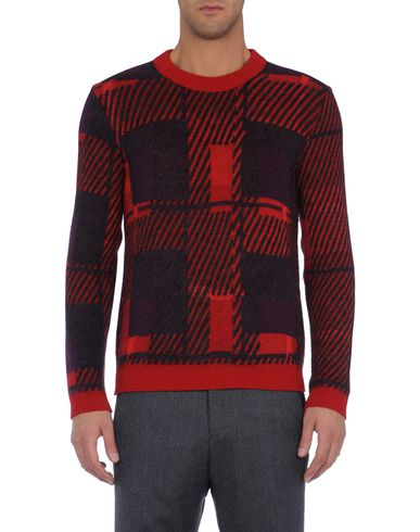 Abstract Tartan Sweater