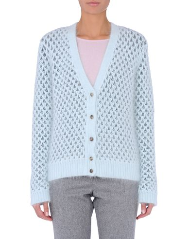 Chunky Angora Cardigan