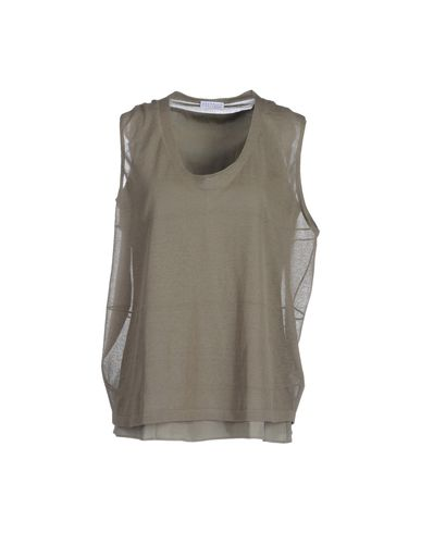 BRUNELLO CUCINELLI - Sleeveless sweater
