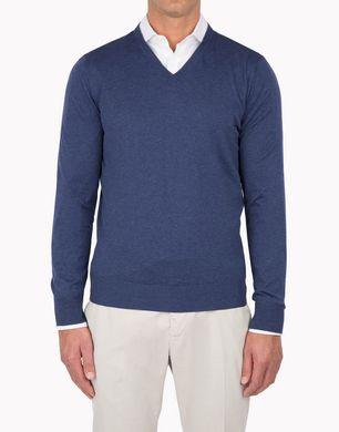 BRUNELLO CUCINELLI M2900162 Pullover mit V-Ausschnitt U f