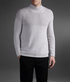 EMPORIO ARMANI - High neck sweater